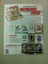 2010-11 ITG Between the Pipes Hockey Product Promotional Pamphlet/Sheet Roy/Rask