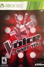 The Voice: I Want You USED SEALED (Microsoft Xbox 360, 2014) no mic