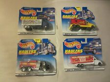 LOT OF 4 MATTEL HOT WHEELS 1998 HAULERS  DUNCAN HINES   HERSHEY KISSES
