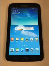 "Samsung Galaxy Tab 3 7.0"" 16GB Android Tablet WiFi+AT&T LTE Dual Core SM-T217A B"