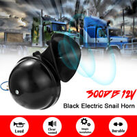 12V 300DB Loud Electric Snail Air Horn Sound For Cars Motorcycle Truck Boat F0Y7