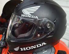 Satz von 8 Stück Honda Motorrad Aufkleber für Helm moto sticker decal
