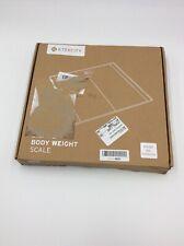 Etekcity 400 lb Digital Bathroom Scale - Black with Measuring Tape
