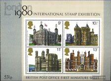 Regno Unito Blocco 1 (completa Edizione) nuovo linguellato 1978 Storico Edifici