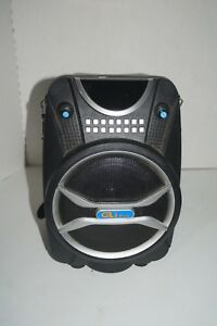 "GLI PRO PUMP-80 6.5"" PORTABLE BLUETOOTH SPEAKER WITH USB/SD CARD READER"