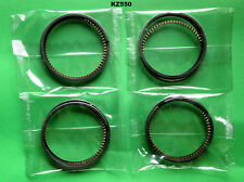 Kawasaki KZ550 Piston Ring Set x4 STD. 1980 1981 1982 1983 1984 Z550 GPZ 550