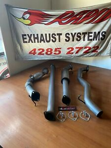 "MAZDA BT50 2011/7-2016 3.2L 3 "" 409 S/STEEL EXHAUST WITH CAT AND  MUFFLER"