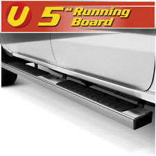 "5"" Chrome Running Boards Side Steps Fits 2015-2020 Chevy Colorado Crew Cab"