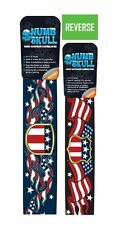 Patriotic American Flag Shield Numbskull Bandanna Head Wrap Head Band Reverse