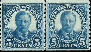 ORLEY STAMPS US STAMP SCT# 602 LP 5c 1923 **MNH/OG XF (Extremely Fine)