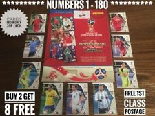World Cup Football Trading Cards & Stickers (Russia 2017-2018 Season