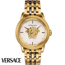 Versace VERD00418 Palazzo Empire weiss gold bronze Edelstahl Herren Uhr NEU