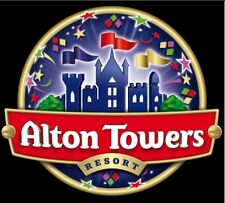 2  Alton Towers Tickets - Booking Form and 10 Sun Tokens - FAST RESPONSE
