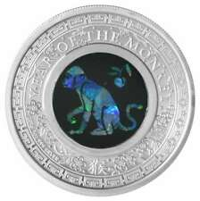 2016 Australia 1 $ Dollar Monkey Opal PP/ Australien 1 $ Affe mit echtem Opal