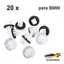 20x Clips Con Anillo de Sello Para Puertas BMW E34 E36 E38 E39  E46 X5 M3 M5 Z3