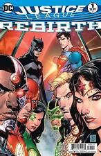 Justice League #1 DC Universe Rebirth 2016