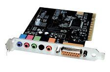 Diamond XS51 XtremeSound 5.1 PCI 16 bit Sound Card for windows 7, 8.1