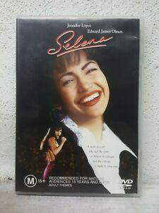 SELENA DVD Jennifer Lopez Movie 1997 Mexican Music Biography RARE MOVIE