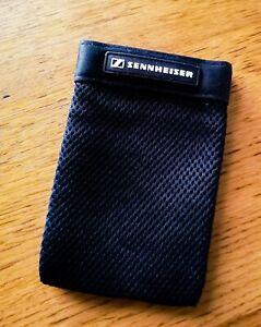 "Sennheiser Accessory Pouch : Black : 6"" x 4"""