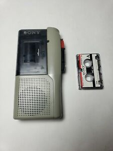 Sony M-P4 Micro Cassette Recorder Dictation Handheld Player Microcassette Corder