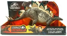 Jurassic World Dino Rivals Mega Dual Attack Stegosaurus Dinosaur Figure New Toy