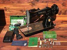 Vintage 1951 Singer 15 91 Sewing Machine Gear Driven Centennial Refurbished