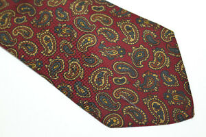 DRAKE'S Silk tie Made in ENGLAND F13189