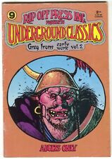 Underground Classics 9 Rip Off Press 1989 FN Greg Irons Early Work 2