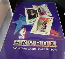 1991-92 1992 SKYBOX BASKETBALL NBA FACTORY SEALED BOX JORDAN & MAGIC 36 PACKS
