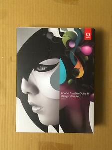 ADOBE Creative Suite CS6 Design Standard MAC deutsch MWST Voll BOX