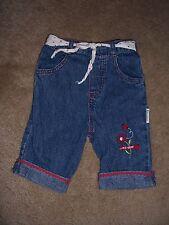 Girls Vitamins LadyBug Design Jeans Size 12 Months