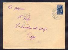 9239 USSR(LatvianSSR),1946,Letter from Valdemarpils with old latvian ! postmark