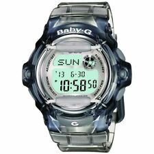 Casio Baby-G BG-169R-8 Transparent Grey Women's and Girls Digital Sports Watch
