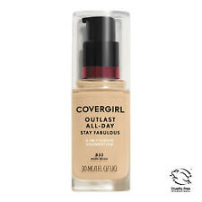 Covergirl Outlast All-Day Stay Fabulous Foundation, 832 Nude Beige Exp FE/20