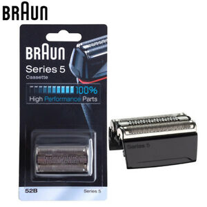 Braun 52B Series 5 Electric Shaver Replacement FOIL Cassette 5020 5030 5040 5050