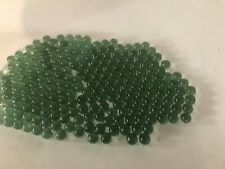 """Lot of Green Glass Marbles 6 lbs Glass 13/16"""" or 20 mm Bulk Wholesale Toy"""