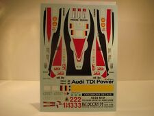DECALS 1/32 AUDI R10 TDI  LE MANS 2008  - COLORADO  32139