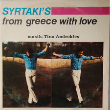 LP VINYL RECORD SYRTAKI'S FROM GREECE WITH LOVE musik TINO ANDROKLES