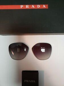 Authentic Replacement Lens for Prada Sunglasses - PR 53SS -Gradient Gray-Size 52