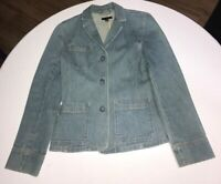 GAP Womens Size S small Blue Jean denim Jacket
