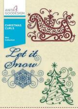 Anita Goodesign Christmas Curls Embroidery Machine Design CD NEW 100MAGHD
