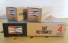 Champion Spark Plug 347 Copper Plus,set of 6,new in box
