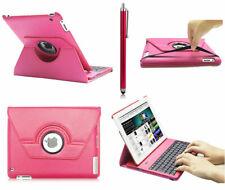 360° Swivel PU Leather Wireless Keyboard Smart Case For iPad 2 /ipad 3 /ipad 4
