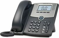 NEW Cisco SPA504G 4-Line IP Phone with 2-Port Switch PoE and LCD Display