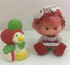 Vintage Strawberry Shortcake Doll Party Pleaser Cherry Cuddler & Gooseberry!