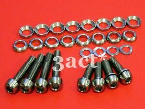 Titanium/Ti Bolts Kit - Sram Avid XX, X0, X9, X7, Elixir, Code, Juicy Disc Brake
