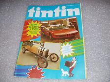 Revue TINTIN N° 158 ; N° 38/33 iéme  année : André CITROËN ; salon de l'auto