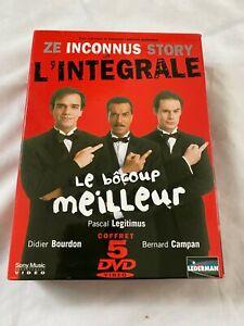Ze Inconnus Story L'integrale 5 DVD set French Comedy Sony Region 2 2003