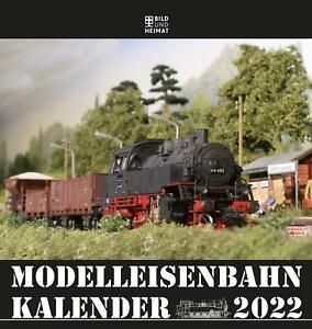 Modelleisenbahnkalender 2022 Helge Scholz