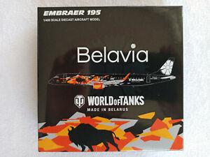 JC Wings LH4138 Belavia ERJ-195 World of Tanks 1:400 Die Cast model EW-400PO
